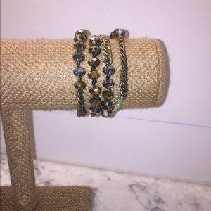 EUC Chloe + Isabel Wrap Bracelet